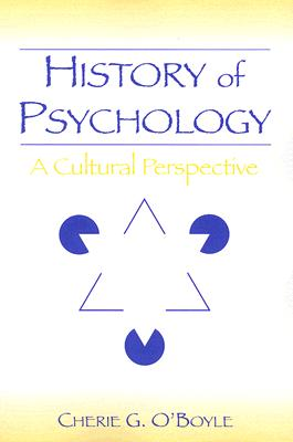History of Psychology By O'boyle, Cherie Goodenow